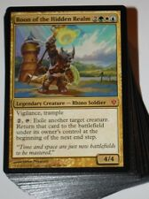 ***Custom Commander Deck*** Roon of the Hidden Realm EDH Bant Magic Cards