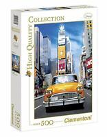 Puzzle Taxi a Time square ; 500 pièces Clementoni 30338