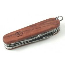 Victorinox HUNTSMAN HARDWOOD / LIMITED EDITION Swiss Army Knife With Pouch - NEW