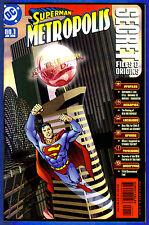SUPERMAN  METROPOLIS: SECRET FILES & ORIGINS # 1 -  DC Comics 1999  (vf-)