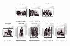 SHERLOCK HOLMES ILLUSTRATIONS- CARDBOARD BOX/ CREEPING MAN- POSTCARD SET