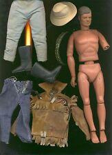 vintage personnage The Lone Ranger - articulé années 70 -