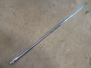 1959 Oldsmobile Dynamic 88 exterior front fender trim molding spear center