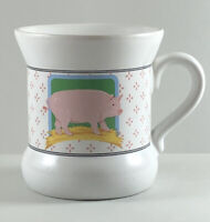 Collectible Coffee Mug Vandor Country Pig Pelzman Designs 1981 made in Japan