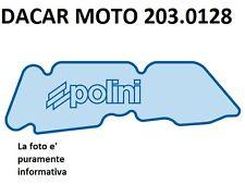 203.0128 FILTRO ARIA POLINI APRILIA : SCARABEO 50 STREET 2T RESTYLING Piaggio