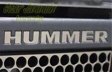 Hummer H3 Chrome Letters Insert