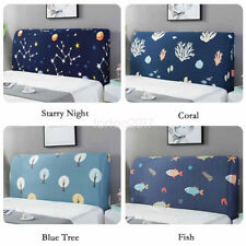 Soft Headboard Slipcover Protector Stretch Dustproof Cover Bedroom Decoration