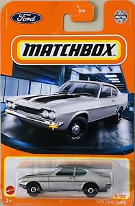 Matchbox 1970 Ford Capri Silver 2021 New Release
