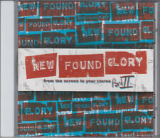 New Found Glory : From The Screen To Your Stereo Part II CD FASTPOST