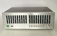 Sansui SE-7 Stereo Graphic Equalizer SE7 EQ Silver Face Vintage 70's Untested