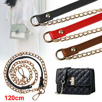 Replacement Metal Purse Chain Strap Handle Shoulder Crossbody Handbag Bag 120cm