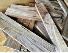 "12"" Long Full Box of Black Walnut Scrap Boards, Craft Wood Lumber Cutting DIY"