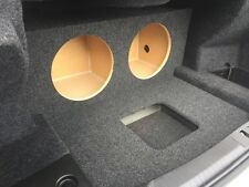 for 2013-2017 Cadillac ATS - Custom Sub Box Subwoofer Enclosure & Amp Rack