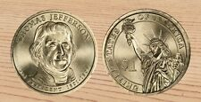 2007 P  $1  President THOMAS JEFFERSON  Presidential Dollar 1-Coin