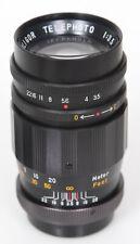 M42 Soligor 135mm f3.5 Lens, preset for camera, Komine