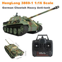 HengLong 1/16 3869-1 Jagpanther German RC Tank 2.4G RC Tank Pro edition w/ Sound