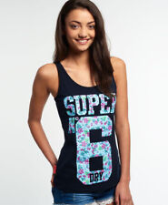 New Womens Superdry No6 Festival Vest