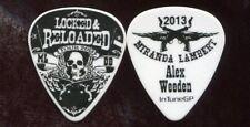 MIRANDA LAMBERT 2013 Reloaded Tour Guitar Pick!!! ALEX WEEDEN custom stage #1