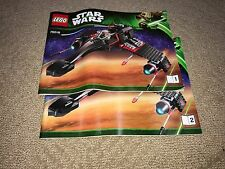 Lego NEW Instructions / Directions ONLY for set 75018 Jek-14's Stealth Starfight