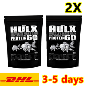 2X HULX High Quality Goldfish Food Sinking Pellets Whey Mixed High Protein 60%