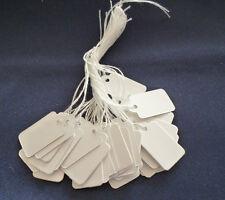 100 Preisschilder Hängeetiketten Fadenetiketten Schmuck