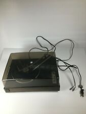 New listing Vintage General Electric Ca800G Record Player Solid State Stereo Black