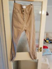 Beige Trousers By Humor. 32 Waist