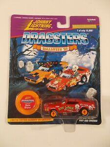 Johnny Lightning 1/64 Dragsters Halloween '97 Bone Shaker