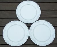 NORITAKE  SABETHA   SET  OF  3   DINNER  PLATES  ...  PRISTINE