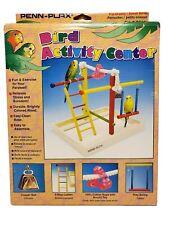 Penn Plax Activity Center For Medium Birds 9 X 11 X 10 Inches with Box #Ba146
