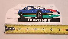 CRAFTSMAN RACING NASCAR STOCK CAR STICKER DECAL LABEL 7X2-1/2