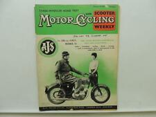 Feb 1959 Motorcycling Magazine Scooter AJS Model 14 Lambretta Ariel NSU L9812