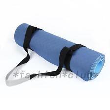 Useful Adjustable Yoga Mat Sling Carrier Shoulder Carry Strap Belt Cotton New