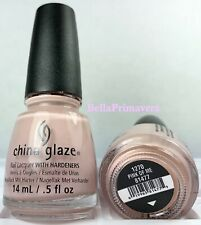 China Glaze Nail Polish Pink Of Me 1270 Pale Pink Opaque Creme Lacquer