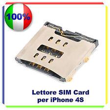 MODULO LETTORE SIM CARD READER PER IPHONE 4S