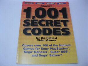 1001 Secret Codes Brady Games