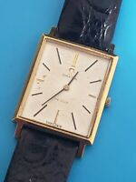 1967 Mens OMEGA DeVille gold plated hand wind Cal 620  Ref 111.057 Running good