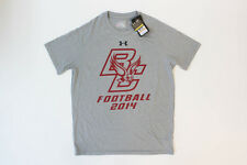 NEW Under Armour Boston College Eagles - Football Grey Short Sleeve Shirt- Small