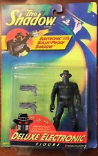 "The Shadow ""Electronic Bullet-Proof Shadow"" Vintage Action Figure Kenner NOS MOC"