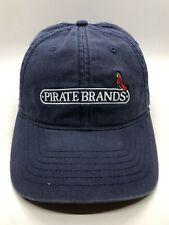 Pirate Brands Cap Hat Adult Adjustable Discolored Blue 100% Cotton