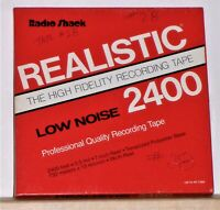 Realistic reel to reel 7 inch tape - Good Used Condition