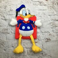 Vintage Disney Donald Duck Plush Hot Water Bottle Pyjama Case 80s 90s Bag Retro
