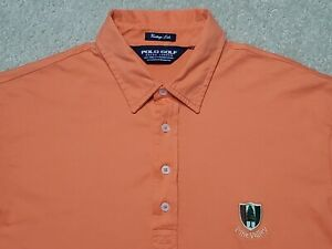 Pine Valley Ralph Lauren Polo Golf Vintage Lisle Shirt 100% Pima Men's Medium