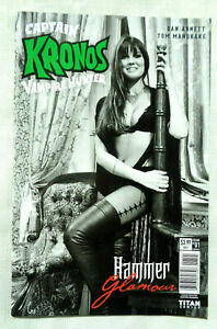 Captain Kronos Vampire Hunter #1 Cover B Hammer Glamour Caroline Munro Titan