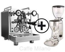 Rocket R 58 Dual Boiler mit Mazzer Mini Electronic B poliert - Caffe Milano