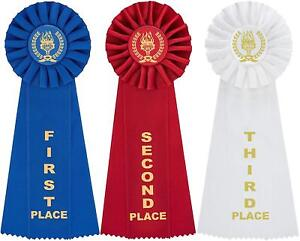 Victory Rosette Premium Award Ribbons with Event Card