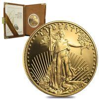 2015 W 1 oz $50 Proof Gold American Eagle (w/Box & COA)