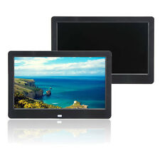"10"" inch HD TFT Digital Photo Frame Picture MP4 MP3 Player + Control Black"