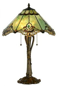 Large Tiffany Style Table Lamp - 18 inch wide