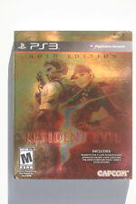 Resident Evil 5 Gold Edition First Print W/ Slipcover US NTSC PS3 Mint CIB RARE